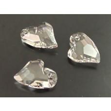 Swarovski devoted 2U heart crystal 17mm