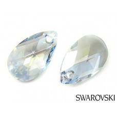 Swarovski pear-shaped 22mm blue shade
