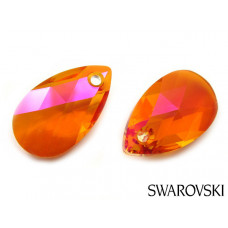 Swarovski pear-shaped 22mm astral pink