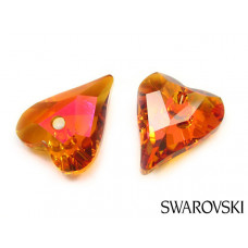 Swarovski wild heart 17mm astral pink