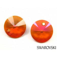 Swarovski flat round 12mm astral pink