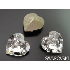 Swarovski 4884 heart 11mm crystal