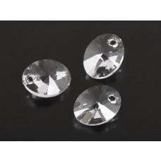 Swarovski oval pendant crystal 12mm