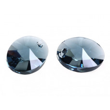 Swarovski oval pendant montana 18mm