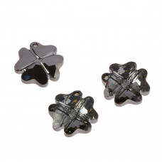 Swarovski clover silver night 19mm
