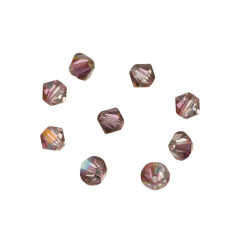 Swarovski bicone bead lilac shadow 4mm