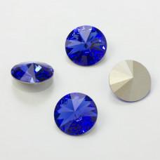 Swarovski rivoli stone sapphire 18mm