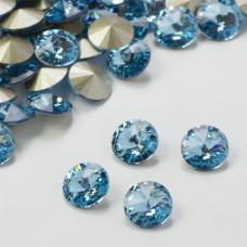 Swarovski rivoli stone aquamarine 8mm