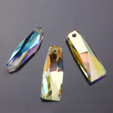 Swarovski crystalactite pendant petite crystal AB 35mm