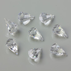 Swarovski raindrop crystal 14mm