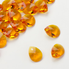 Swarovski mini pear tangerine 12mm