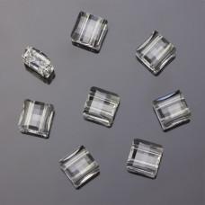 Swarovski stairway bead 2 holes crystal 10mm