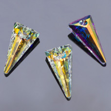 Swarovski spike pendant crystal AB 28mm