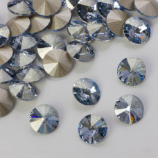 Swarovski rivoli stone blue shade 8mm