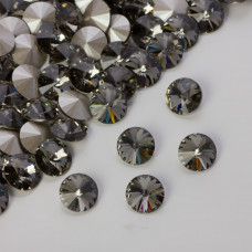 Swarovski rivoli stone black diamond 8mm