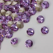 Swarovski rivoli stone violet 8mm