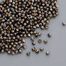 Swarovski round bead metalic gold 2x 4mm