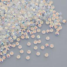 Swarovski rondelle bead crystal AB 4mm