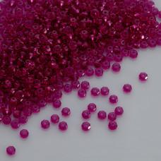 Swarovski rondelle bead fuchsia 4mm