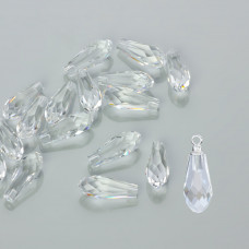 Swarovski pure drop crystal 20mm