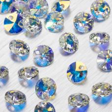 6428 Xilion pendant crystal AB  8mm