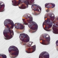 6428 Xilion pendant cyclamen opal  8mm