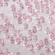 5000 round bead rosaline 4mm