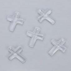 Swarovski Cross Pendant Crystal 20x16mm