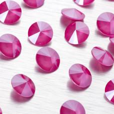 1122 rivoli stone peony pink 12mm