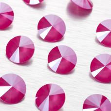 1122 rivoli stone peony pink 14mm