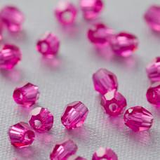 5000 round bead fuchsia 3mm