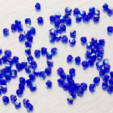 5328 bicone bead 4mm Majestic Blue