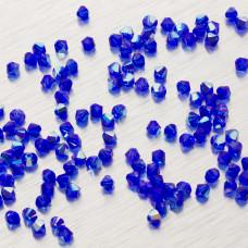 5328 bicone bead 4mm Majestic Blue