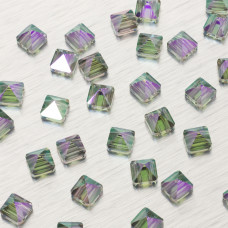5061 Square spike bead paradise shine 7.5mm