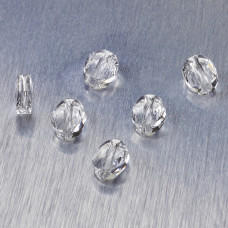 5051 Swarovski mini oval bead 8x6mm Crystal