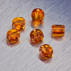 5052 Swarovski mini round bead 6mm Tangerine