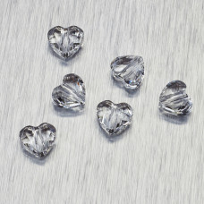 5741 Swarovski love bead 8mm Crystal