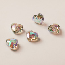 5741 Swarovski Love bead 8mm paradise shine