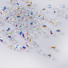 5200 Barrel crystal ab 6x4mm