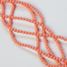 Perły SWAROVSKI (716) Pink Coral 3mm