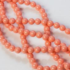 Perły SWAROVSKI (716) Pink Coral 6mm