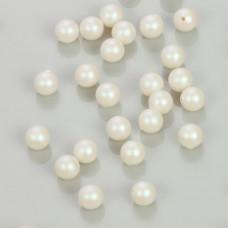 5818 Swarovski pearl do kolczyków pearlescent white 6mm