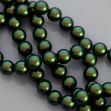 Swarovski pearl scarabaeus green 10mm
