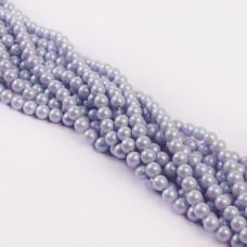 5810 Perły Swarovski iridescent dreamy blue 6mm