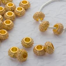Koralik emaliowany sunny yellow 6mm