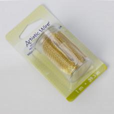 Artistic Wire siatka tytanowa 18mm kolor złoty