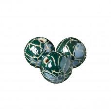 Kulka ceramiczna spękana emerald 34mm