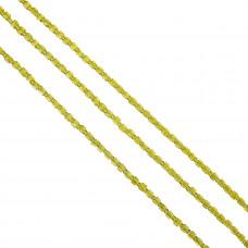 Kostki crackle cytrynowe 4mm