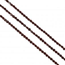 Kostki crackle brązowe 4mm