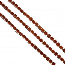Kostki cracle czerwona magma 6mm